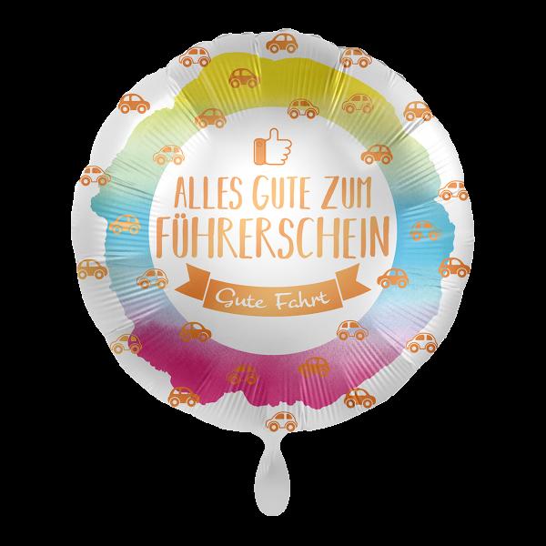 Picture of Alles Gute zum Führerschein Folienballon