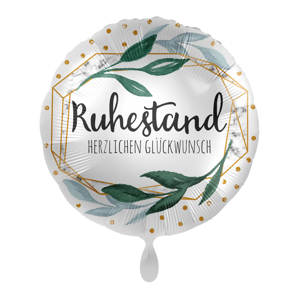 Picture of Ruhestand Marble Folienballon