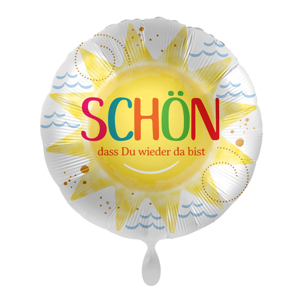 Picture of Schön dass du wieder da bist - Folienballon