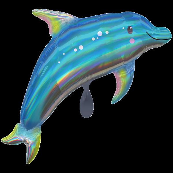Picture of Blue Dolphin - Folienballon